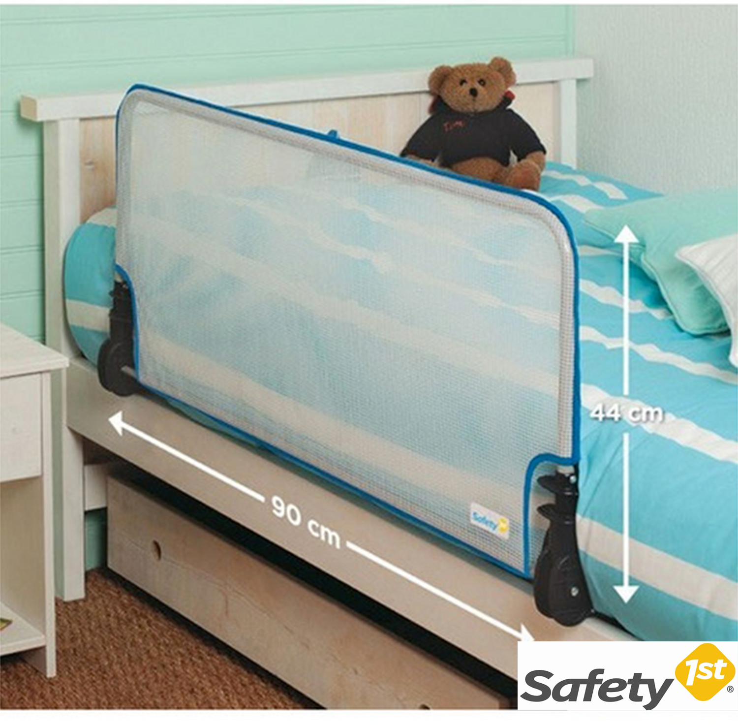 Safety first barriera per letto iperbimbo - Barriere letto bambini prenatal ...