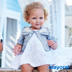 Mayoral - Giacca di Jeans Baby Bambina